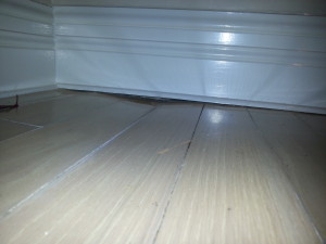 Wate damage repair code red restoration llc water damage restoration fire damage for Water damage baseboard bathroom